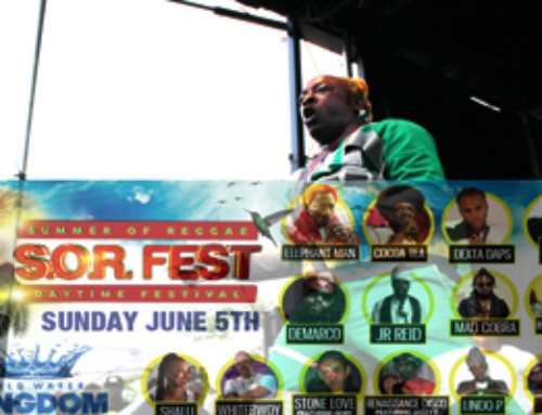 See Video, Review and Hot Pics of Elephant Man & Cocoa-Tea at S.O.R Music Festival 06.05.16