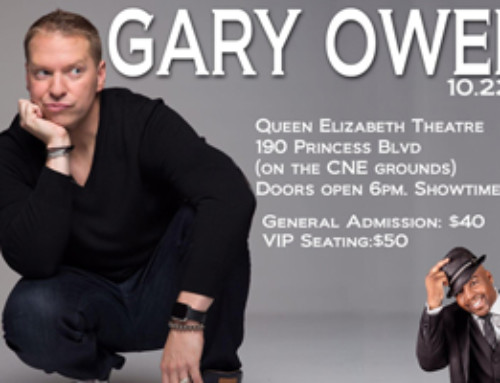The Gary Owen Comedy Show live inside The Queen Elizabeth Theatre 10.22.16