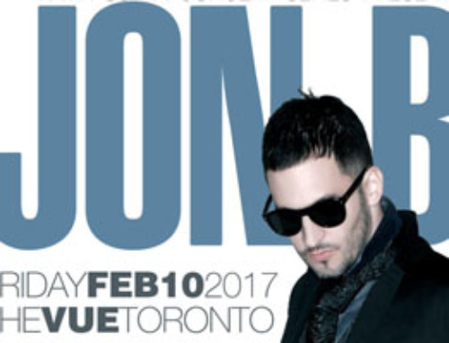 Friday February 10th @ The Vue – JON B live alongside The Recipee Band & comedian Jay Martin