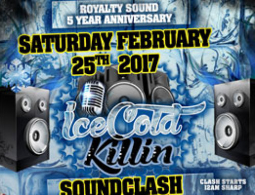 Royalty Sound 5-Year Anniversary-All Day Party, Award Ceremony & Sound Clash, Saturday February 25th @ Timeout Restore Lounge