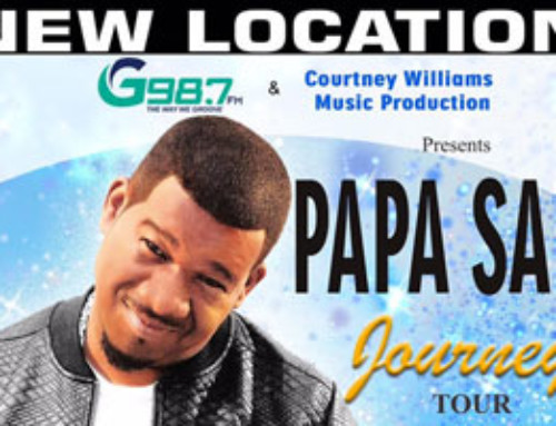 Papa San and Special Guests Saturday May 27th at new venue Revivaltime Tabernacle