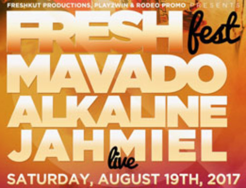 Fresh Fest 2017-Alkaline, Mavado & Jahmiel Saturday Aug 19th Woodbine Mall