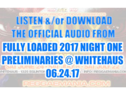 Listen &/or Download Night One Fully Loaded Audio 06.24.17