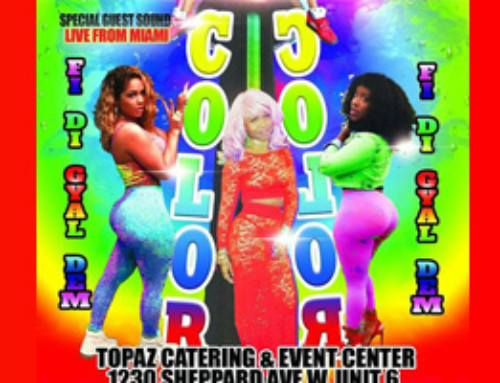 COLOR COLOR Fi Di Gyal Dem – East meets West Link Up Edition – Saturday September 2nd @ Topaz