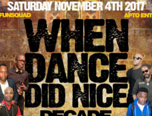 When Dance Did Nice Decade Showdown Saturday November 4th