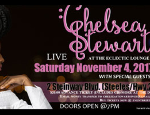 An Intimate Evening with Chelsea Stewart Live at The Electric Lounge Saturday November 4th, 2017 | Doors Open @ 7 PM