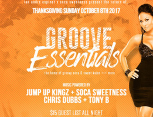 Ian Andre Espinet & Soca Sweetness Present The Return of Groove Essentials @ Rum Dairies Thanksgiving Sunday October 8th-