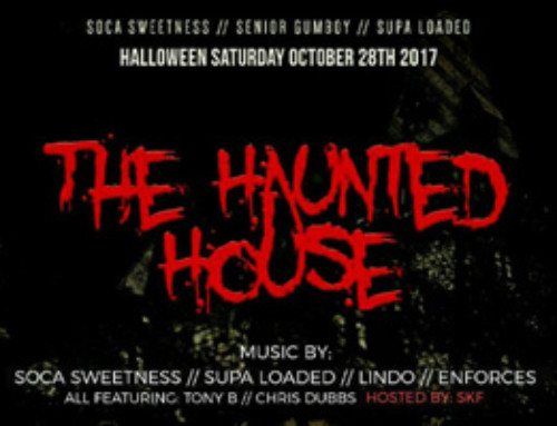 The Halloween Saturday Haunted House inside a converted 55 Nugget!