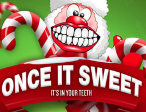 Once It Sweet, It In Yuh Teet — Candy Cane Edition