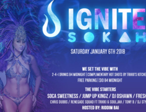 Ignite Sokah at The Warehouse 55 Nugget Ave-Saturday January 6th 2018