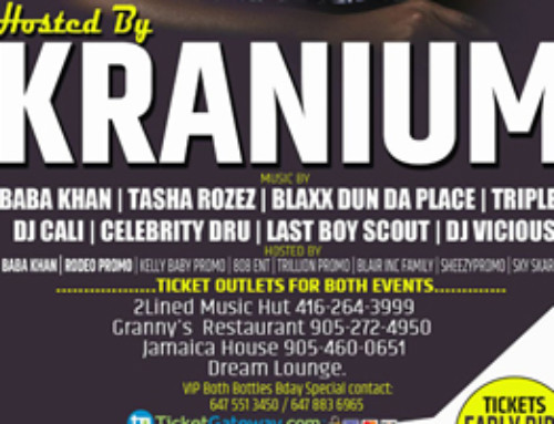 Friday March 23rd hosted by Kranium at Dream Lounge